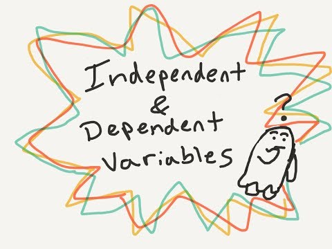 Psych Terms: Independent and Dependent Variables