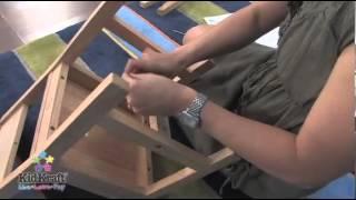 Kidkraft Aspen Table & Chair Set - Natural 21221