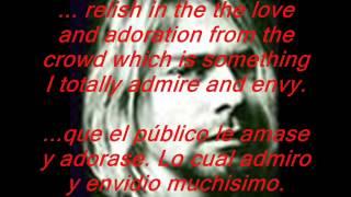 NOTA DE SUICIDIO DE KURT COBAIN, subt ingles y español.