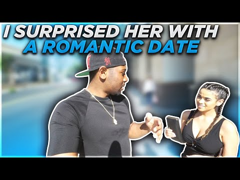 I SURPRISED HER WITH A ROMANTIC DATE FOR HER BIRTHDAY!!