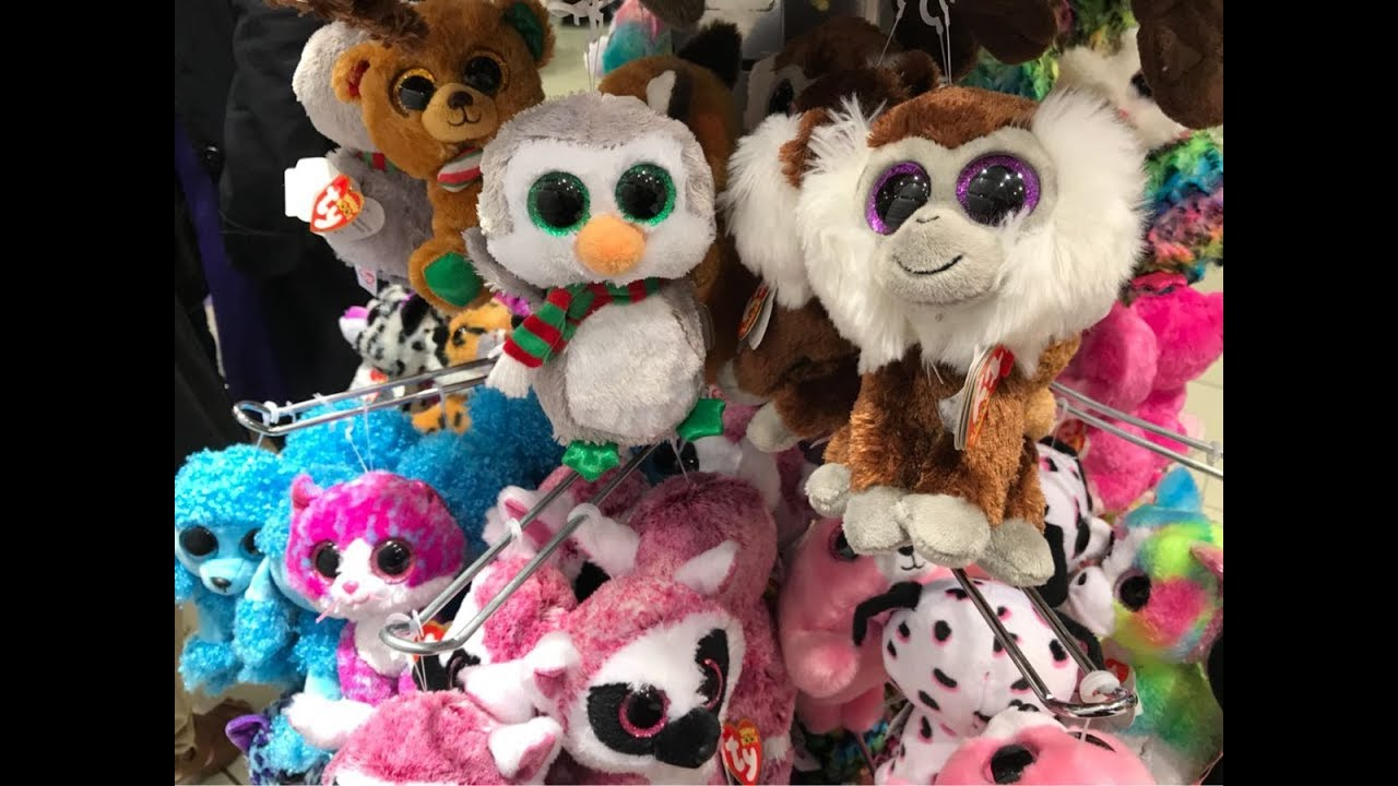 30ef733ff11 BEANIE BOO SHOPPING IN CLAIRES in ESSEX
