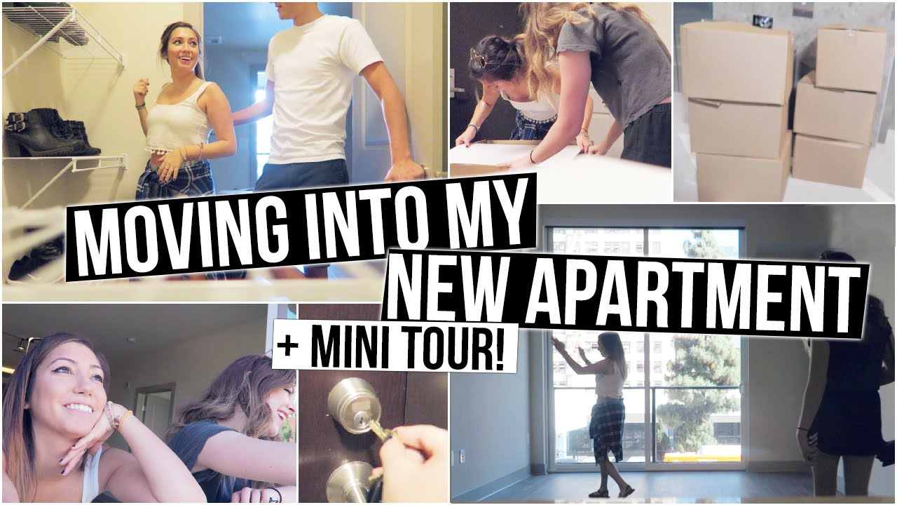moving into my new apartment mini tour youtube. Black Bedroom Furniture Sets. Home Design Ideas