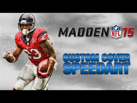 Custom Madden NFL 15 Cover - Speed Art | Arian Foster