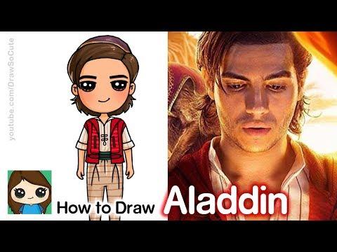 how-to-draw-aladdin-|-disney's-new-aladdin-movie