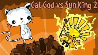 Cat God vs Sun King 2-Walkthrough