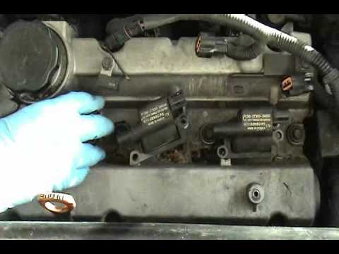hqdefault change spark plugs 05 kia sedona youtube 2003 kia sorento spark plug wire diagram at gsmx.co