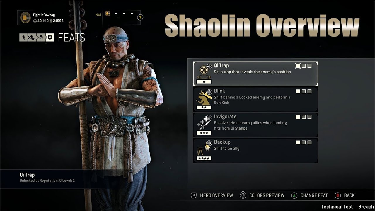 For Honor Shaolin Overview New Hybrid Marching Fire Dlc