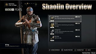 For Honor - Shaolin Overview - New Hybrid, Marching Fire DLC