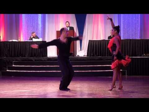 2014 Riverfront Dancesport Festival - Josh Tilford & Ashley Nicole Mambo Show Dance