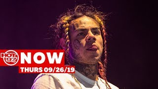 Tekashi 6ix9ine Says 'No' To Witness Protection + New Music From Nicki Minaj + Young MA + Afro B !