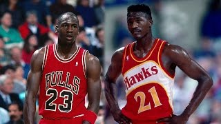 Dominique Wilkins VS Michael Jordan |
