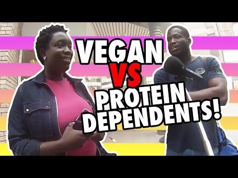 Asking Non-Vegans to #namethetrait on the Street