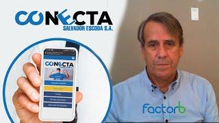 Instaladores probando CONECTA, la App de Salvador Escoda - Cristian de Eurocooling