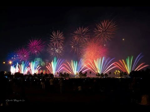 Qatar National Day Spectacular Fireworks 2014
