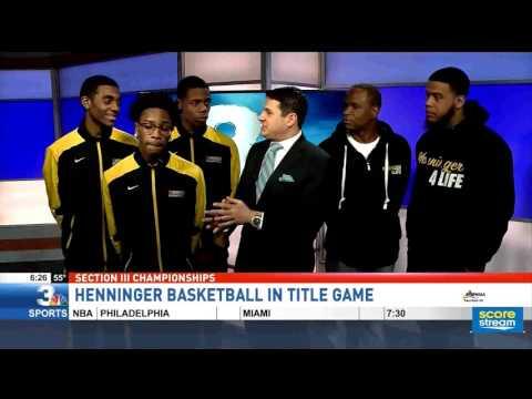 Henninger Basketball live on NBC3