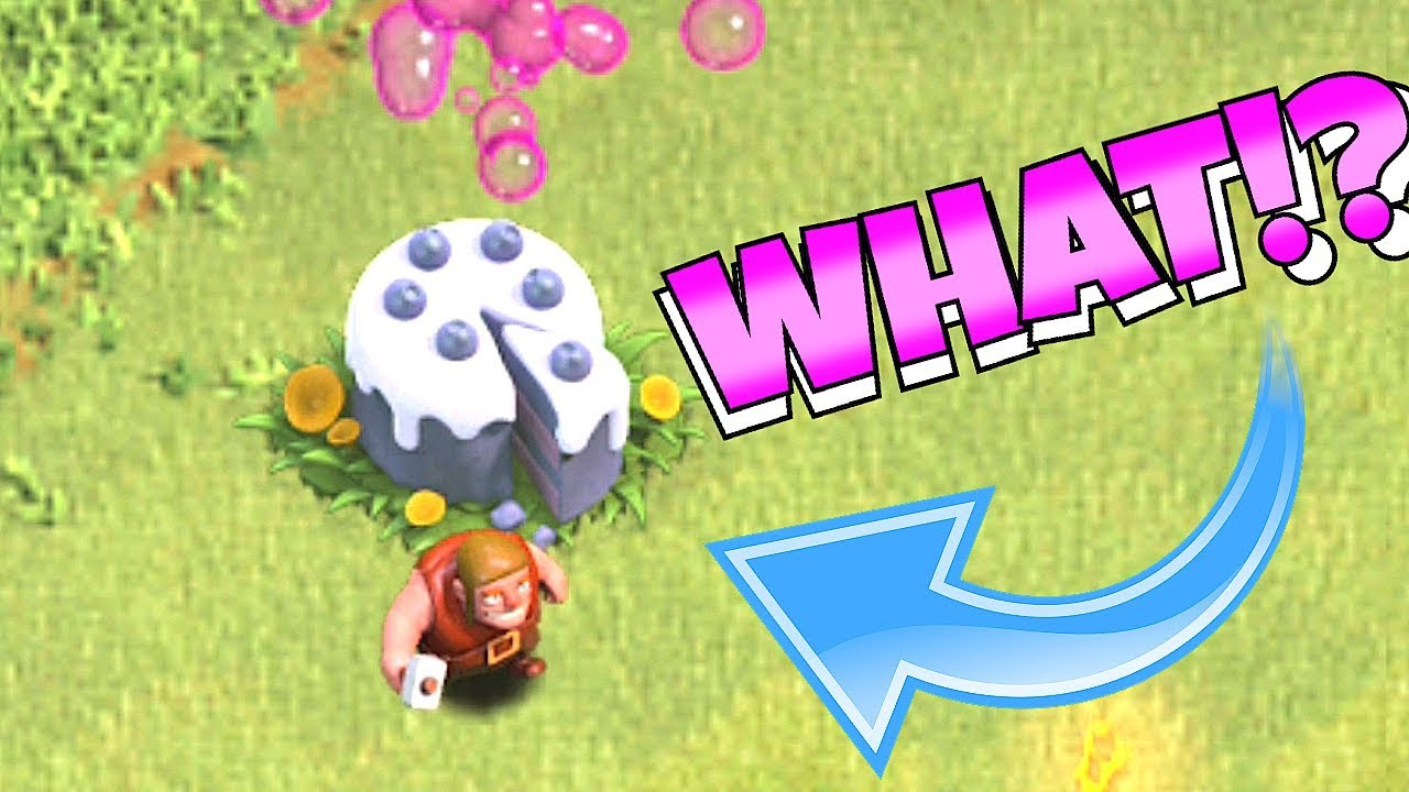 """WHATS INSIDE THIS CAKE!!! """"Clash Of Clans"""" CLAN GAMES!!"""