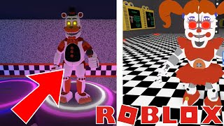 Roblox FNAF NEW Help Wanted Plush baby! Showtime Freddy! Night Terror Circus baby! New Characters!
