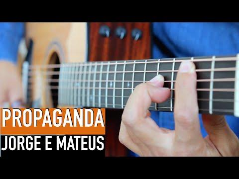 Jorge e Matheus Propaganda - Rodrigo Yukio Cover Violão Fingerstyle