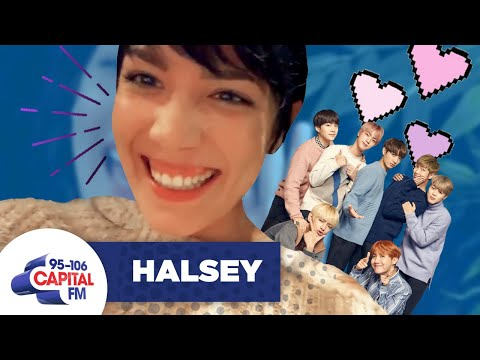 Halsey Fangirls Over Her Collaboration With BTS 💕     Capital