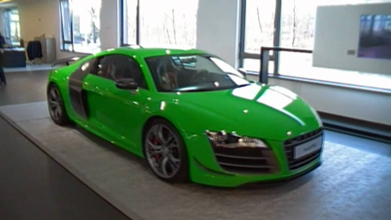 Green Audi R8 Gt Youtube