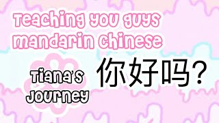 Mandrain Chinese! Lesson One