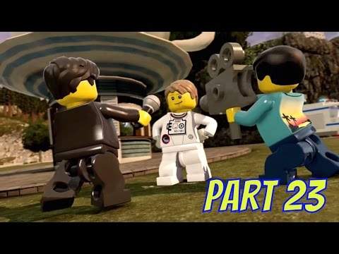 LEGO City Undercover Remastered Part 23 Far Above the Call of Duty Fly Me To The Moon (Xbox One)