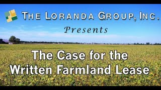The Case for the Written Farm Land Lease