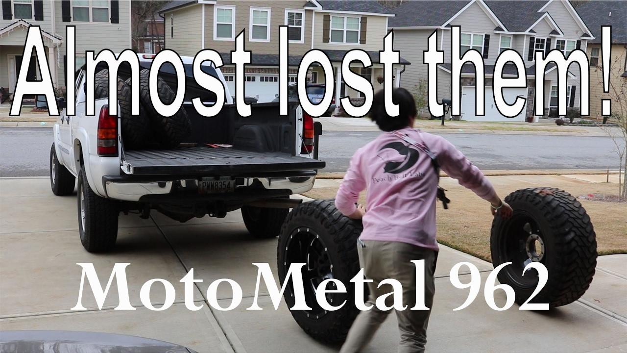moto metal 962. duramax update 4 - picking up new wheels! (moto metal 962) moto 962
