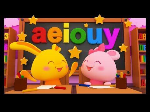 La chanson des voyelles - L'alphabet - Apprendre à lire - Titounis