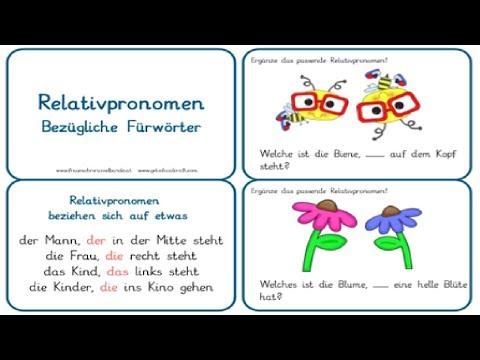 Урок 25 Немецкий А2 относительные местоимения/Relativpronomen