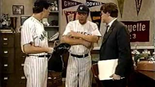THE NEWZ (USA; 1994) Lou Gehrig gets Lou Gehrig's Disease - Tommy