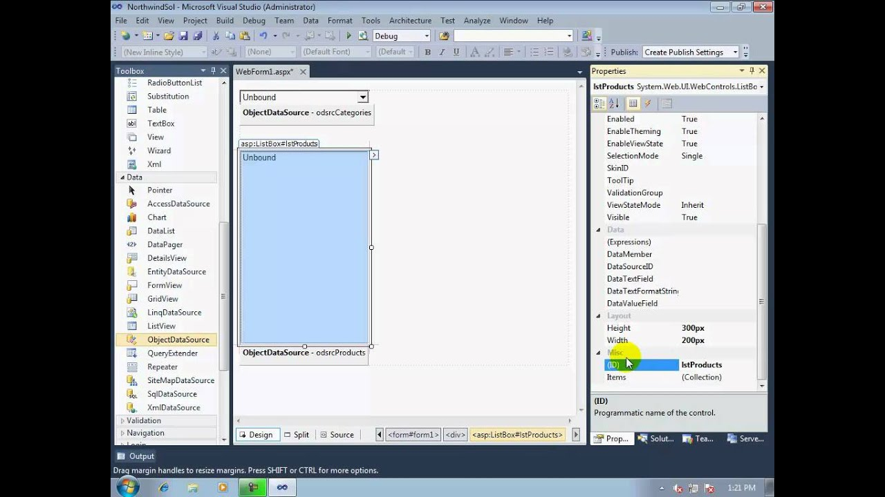 How to Bind Parent/Child controls (in a cacading manner) using ASP NET  ObjectDataSource