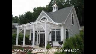 Country Cupolas And Weathervanes