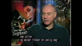 """Hollywood stars"" on TV1000 Cinema (1997): Four days in september featurette."