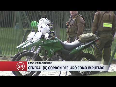 Ex general Gordon declara como imputado por millonario fraude a Carabineros