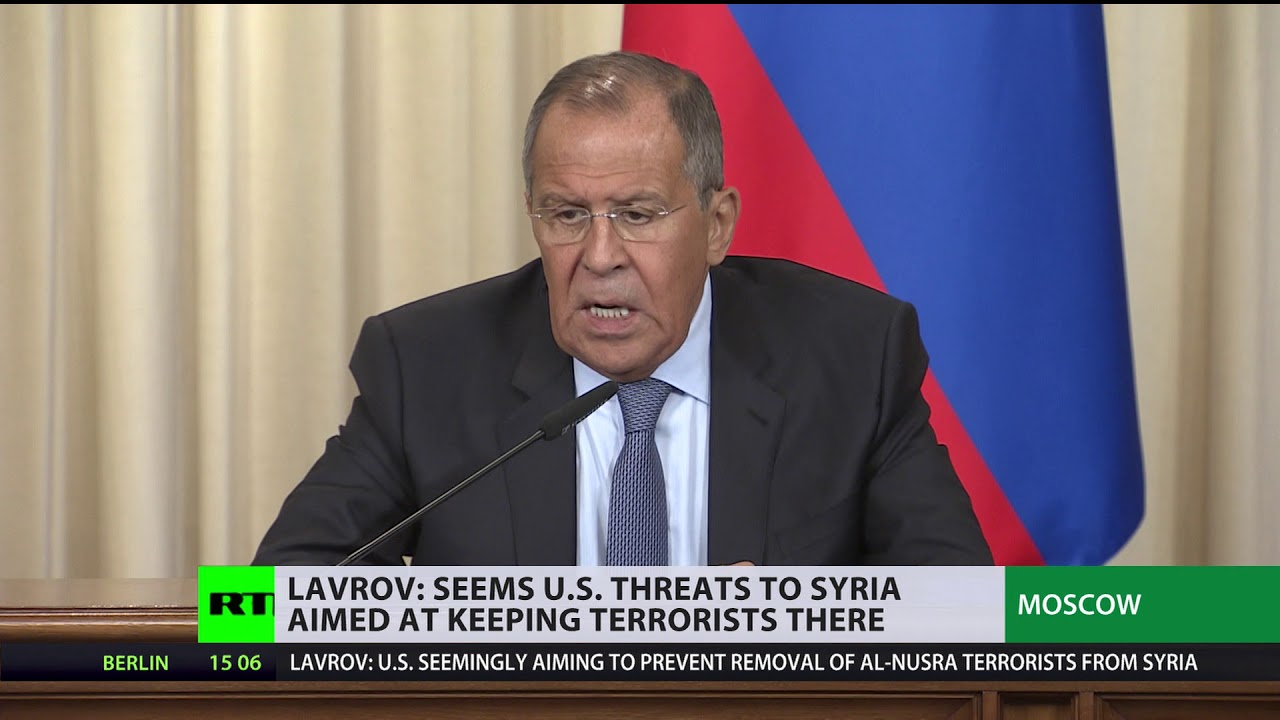 Chemical weapons provocation aimed at keeping terrorists in Syria - Lavrov