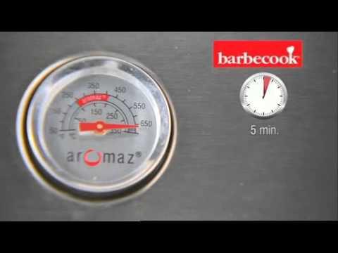 grill gazowy brahma 5 2 barbecook youtube. Black Bedroom Furniture Sets. Home Design Ideas