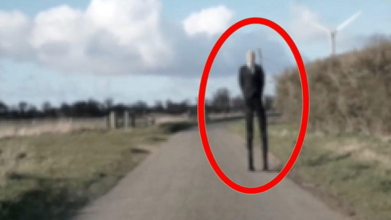 Download 5 Scariest Slenderman Sightings Caught On Dashcam