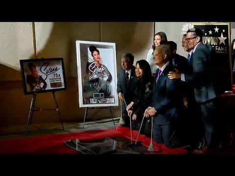 Selena Hollywood Star + Chris Perez & Suzette Quintanilla interviews