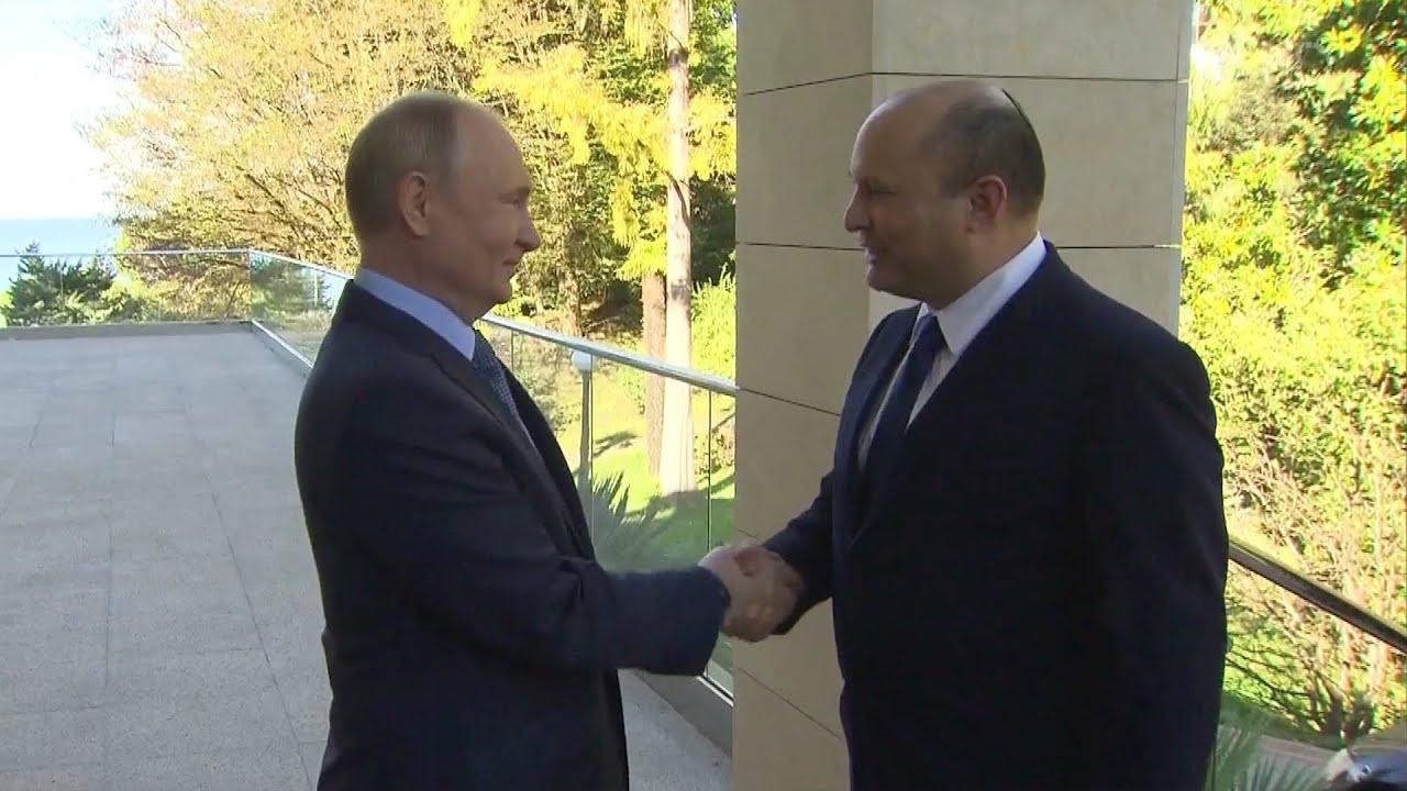Владимир Путин принял в Сочи главу израильского правительства Нафтали Беннета