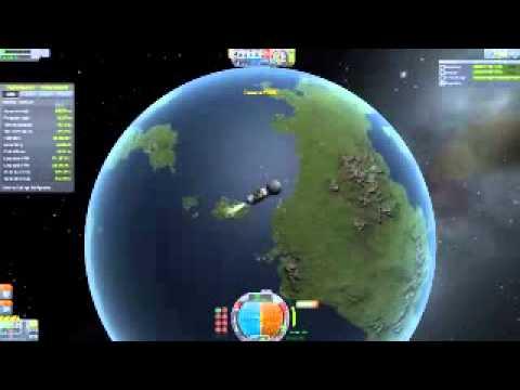 KSP: NASA mission 002. Launch of Vanguard 1 satellite.