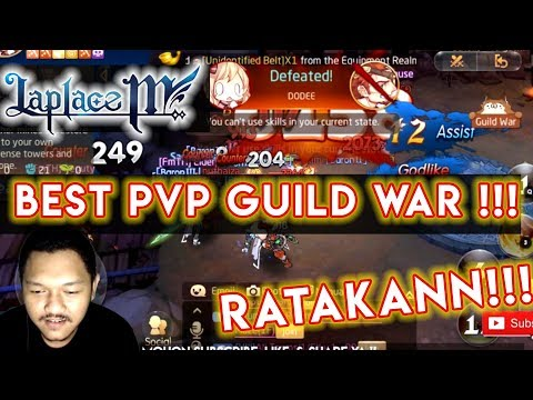 Laplace M - PVP GUILD WAR BERSERKER GAMEPLAY- Laplace M (19032019)