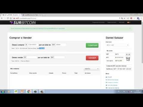 Como comprar Bitcoin en Venezuela con Bolivares- Localbitcoins y surbitcoin