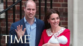 Kate Middleton & Prince William Welcome Royal Baby #3: Watch Them Leave St. Mary