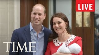 Kate Middleton Gives Birth To Royal Baby Number 3: Live From St. Mary's Hospital | LIVE | TIME