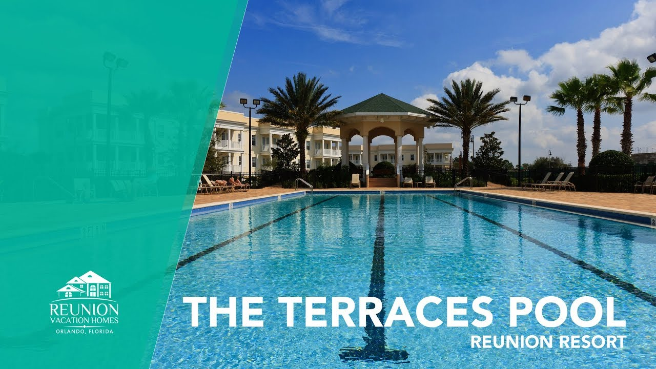 The Terraces Reunion Pool Large Lap Pool Florida Vacation Homes Youtube