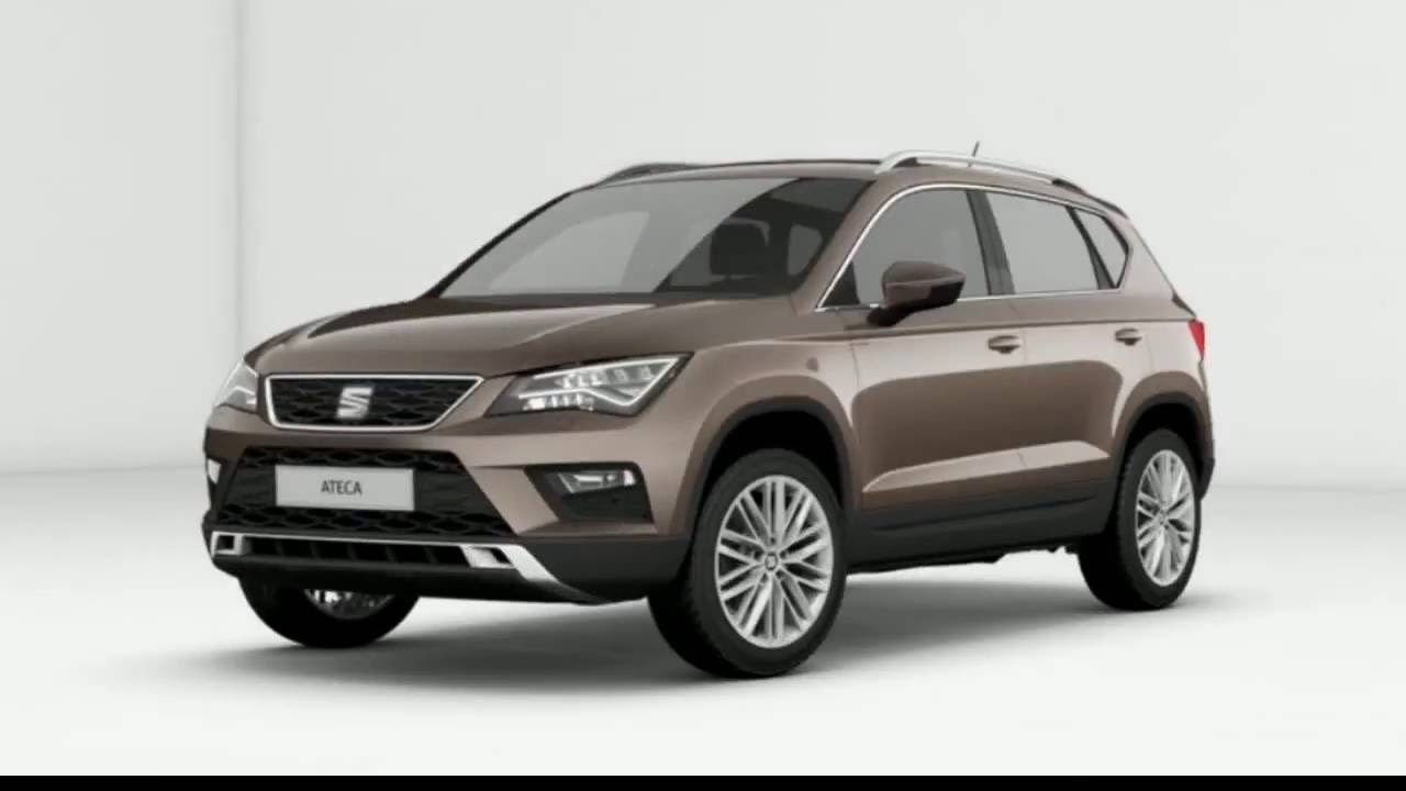 seat ateca 1 4 tsi 150cv dsg 7 velocidades youtube. Black Bedroom Furniture Sets. Home Design Ideas