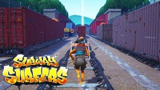SUBWAY SURFERS IN FORTNITE CREATIVE! (mini game codes)