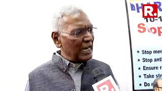 CPI Leader D Raja Reacts On CAB, Says 'It Has Targetted Muslim Community'