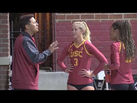 USC's alumni match helps Beach Volleyball kick off its season